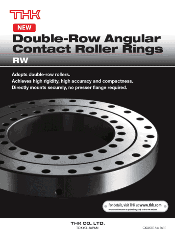 double-row-angular-contact-roller-rings
