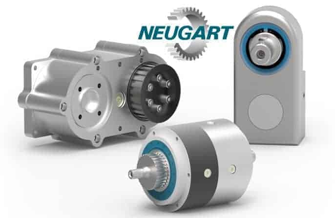 Three examples of custom made gearboxes