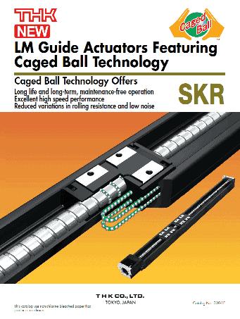 THK_Actuator_SKR_Modeli
